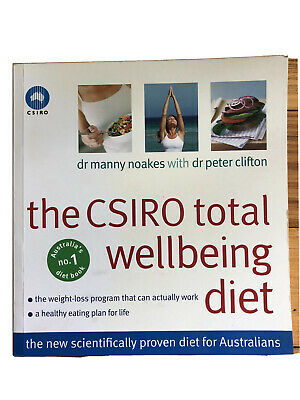 AU15 • Buy The CSIRO Total Wellbeing Diet By Peter Clifton, Dr Manny Noakes (Paperback,...