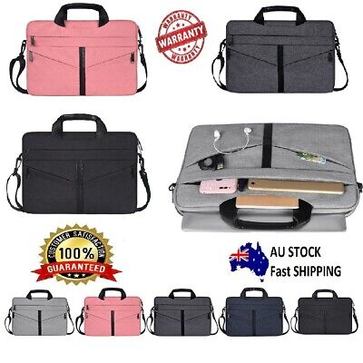AU23.99 • Buy Laptop Sleeve Briefcase Carry Bag For Macbook Dell Sony HP 11 12 13 14 15 Inch