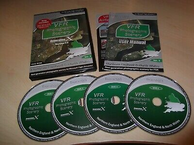 ✈️ Generation X Vfr Photographic Scenery Volume 3 Flight Simulator X Fsx Add-on • 14.99£