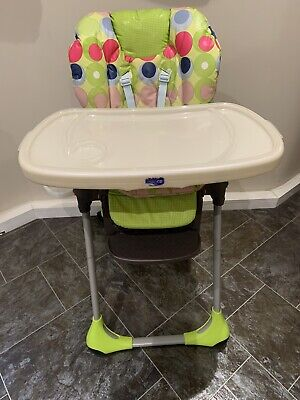 Chicco Polly Highchair • 20£