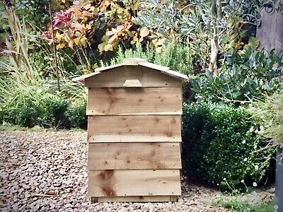 Beehive Composter Kit - Unpainted & Flat Packed, Part Constructed • 71£