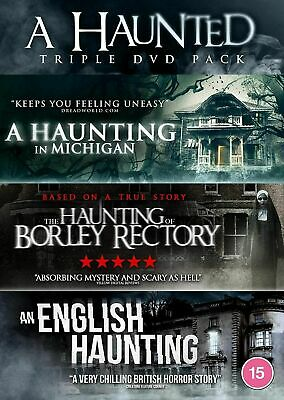 £6.99 • Buy A Haunted Triple - Dvd **new Sealed** Free Post**