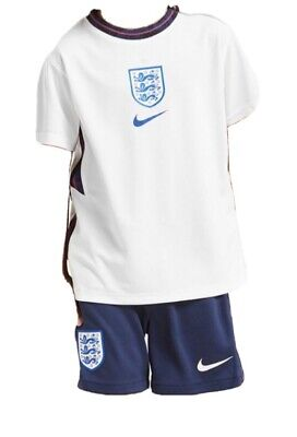 Newest England 2020 2021 Home Kit Brand New AGE 4/5 Years Includes Shirt/Shorts • 19.99£