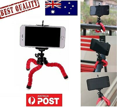 AU7.40 • Buy AU Phone Tripod Mini Flexible Camera  Holder Portable Stand For IPhone Samsung