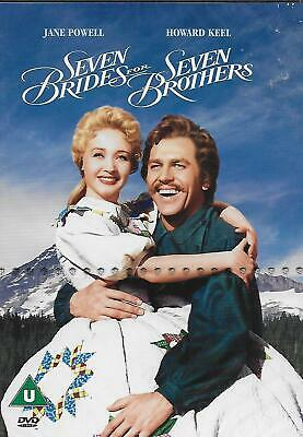 £3 • Buy Seven Brides For Seven Brothers (classic 50's Musical) - Starring Howard Keel