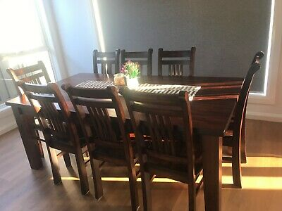 AU750 • Buy 8 Seater Dining Table With Chairs And Buffet