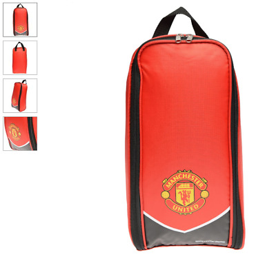 Manchester United FC Football Team Boot Shoe Zip Bag With Hand SWOOP • 8.95£
