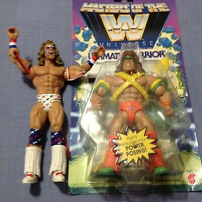 $99.99 • Buy WWE Masters Of The Universe Ultimate Warrior +2004&2011 Loose Warrior