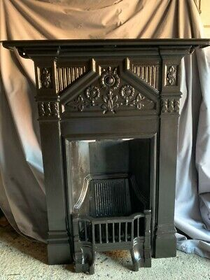 Victorian Reproduction  Daisy Design Cast Iron Fireplace • 165£