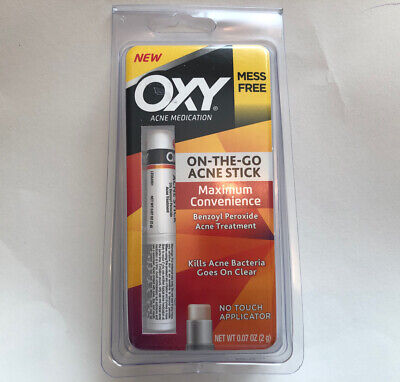£5.63 • Buy OXY Acne Medication On The Go Stick No Touch Applicator -- E X P  01/2019
