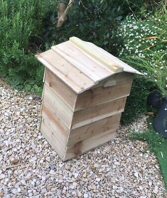 Beehive Composter Kit - Unpainted & Flat Packed, Part Constructed • 76£