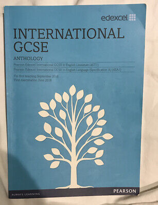 IGCSE (9-1) English Literature Edexcel Student Book And Anthology Book • 23£