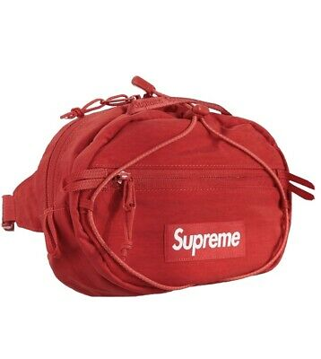 $ CDN149.89 • Buy Supreme FW20 Red Waist Bag Fanny Pack Dark Red IN HAND 100% Authentic Fast Ship