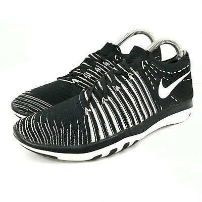 $ CDN50.63 • Buy Nike Free Transform Flyknit Womens Black White Running Shoes 833410-010 Size 8.5