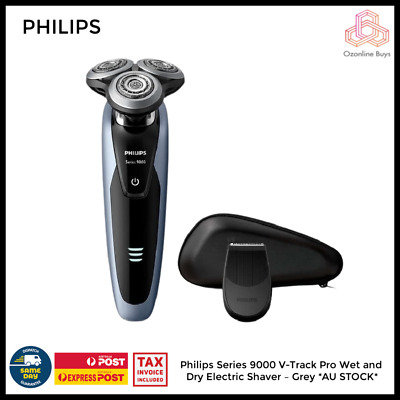 AU239 • Buy Philips Series 9000 V-Track Pro Wet And Dry Electric Shaver – Grey *AU STOCK*