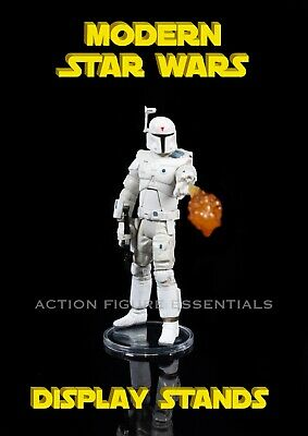 £13.95 • Buy Star Wars 40 New Pro Display Stands For Modern Star Wars & Other Action Figures