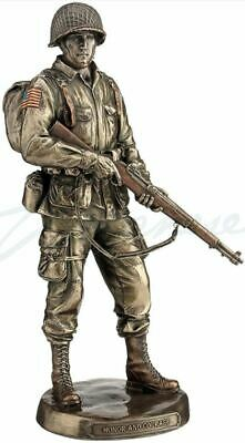 Honor & Courage United States Army Soldier Statue Sculpture Figurine Military • 44.26£