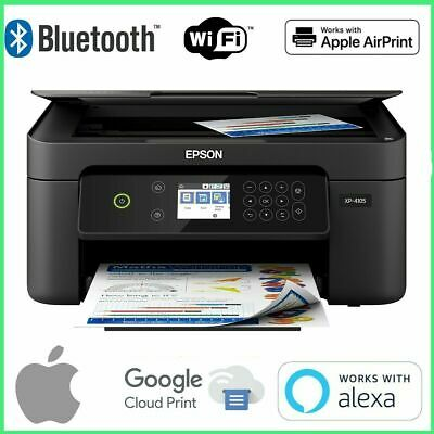 View Details ✔️ Epson Printer Machine Scanner Copier All-In-One Wireless XP-4105 With INK  • 99.92$