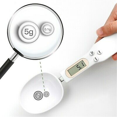 Digital Spoon Electronic Scale LCD Measuring Weight Food Kitchen Lab 0-500g UK • 5.99£