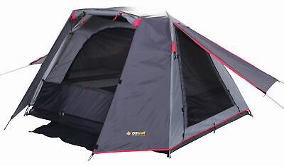 AU94.95 • Buy OZTRAIL TENT ACTIVE 3P Dome Hiking 3 Man Person Compact Tent PINK