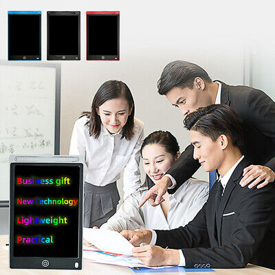 12  LCD Writing Tablet Drawing Board Notepad EWriter Digital Graphic Kids Gift • 9.99£