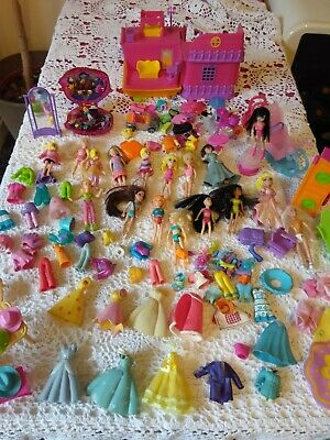 Huge Polly Pocket  Dolls Clothes Shoes And Accesories Bundle • 37.50£