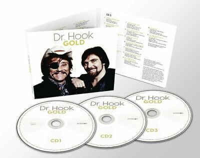 £8.97 • Buy Dr. Hook Gold New  3CD Special Edition Digipack ( 44 Tracks ) NEW All The Hits