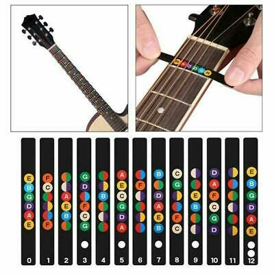 £2.89 • Buy Guitar Accessories Scales Sticker Fretboard Note Decal Begin Learn Practice Tool