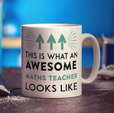 £5.99 • Buy This Is What An Awesome Maths Teacher Looks Like Mug