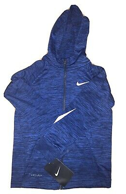 Nike Boys Dri Fit Track Suit Top Midnight Navy Marl BNWT Age 6 FREE POSTAGE • 15£