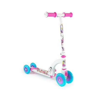 Unicorn My First Scooter Kids Toddler Infant Push Folding Converts 4 To 2 Wheels • 22.99£