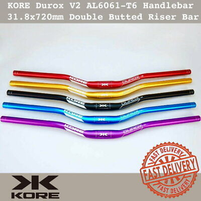 $29.90 • Buy KORE Durox V2 MTB Handlebar 31.8 X 720mm AL6061-T6 Double Butted Riser Bar