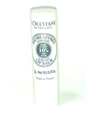 L'occitane Shea Butter Ultra Rich Lip Balm 0.07oz/2g • 8.01£