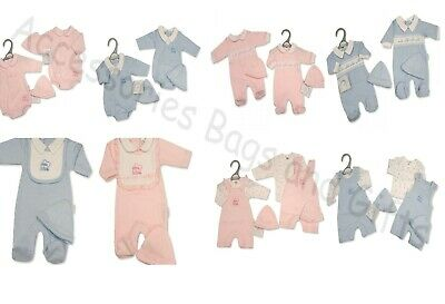 £11.95 • Buy Premature Tiny Baby Boys Girls 2 Piece Clothes Gift Sets  Little Love  3-5-8lbs