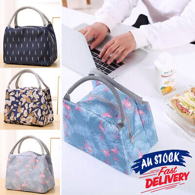 AU10.85 • Buy Portable Lunch Bag Thermal Insulated Carry Box Cooler Tote Storage Oxford Picnic