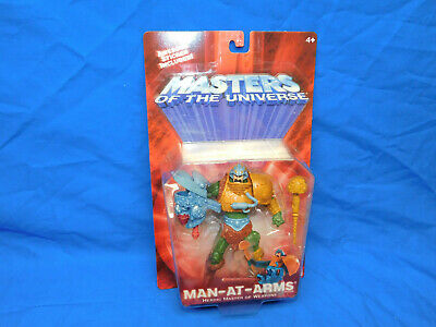 $21.99 • Buy He-Man Masters Of The Universe Man-At-Arms 2001 Figure 54914 200X