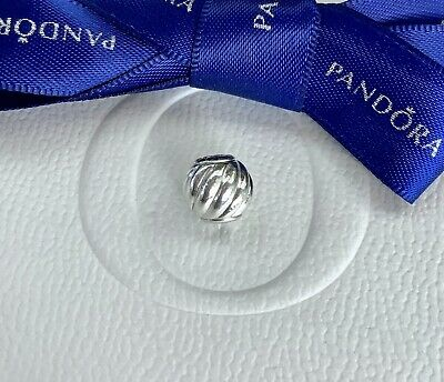 AU45 • Buy Authentic Pandora Essence Collection Silver Ripple HEALTH Charm #796105