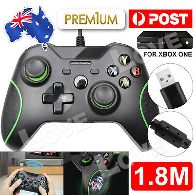 AU37.95 • Buy AU NEW Wired Controller Gamepad For Xbox One/Slim Console Dualshock PC Windows