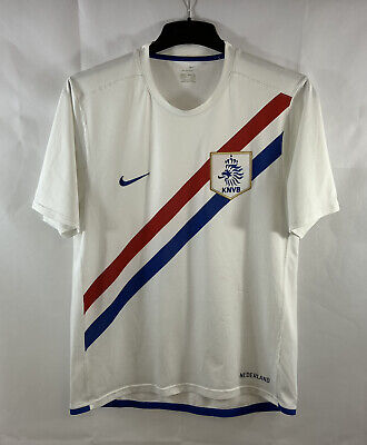 Holland Away Football Shirt 2006/08 Adults Medium Nike D89 • 39.99£