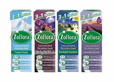 £7.39 • Buy 4 X Zoflora Concentrated Disinfectant 120ml - Choice Of Scent - Midnight Blooms