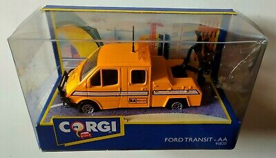 Corgi 91820 AA Service Ford Transit Recovery Truck, 1992, Boxed, Very Good • 24.99£