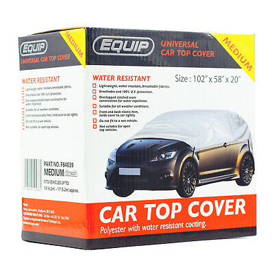 Car Top Cover Winter & Water Resistant Breathable UV Protection • 7.99£