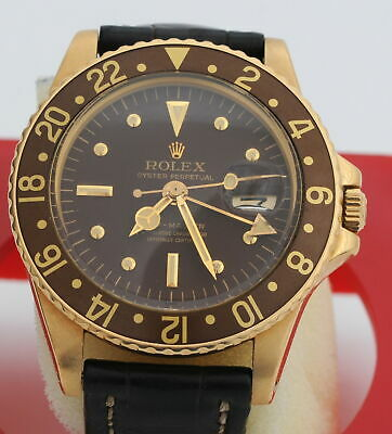 $ CDN51463.56 • Buy Rolex GMT-Master 1675/8  Gold First Model Of 1964 Year