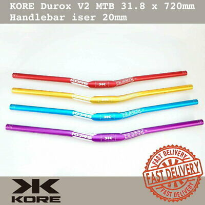 $24.90 • Buy KORE Durox V2 MTB Handlebar 31.8 X 720mm AL6061-T6 Double Butted Riser 20mm