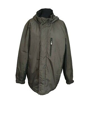 ATLANTIC BAY Coat Size XL Brown Padded Jacket Casual Snow Ski Evening Outdoors • 9.95£