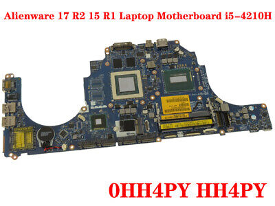 $ CDN454.43 • Buy FOR DELL Alienware 17 R2 15 R1 Laptop Motherboard I5-4210H 100% Test Work