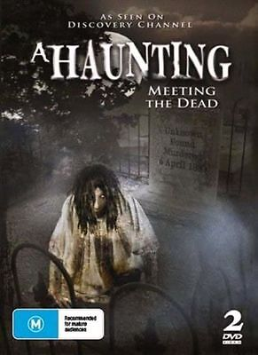 A Haunting - Meeting The Dead DVD Region All | 2 Disc Set |vgc T212 • 13.72£