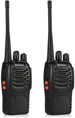 $ CDN52.45 • Buy Pair Long Range Walkie Talkie 16CH 2800mAh UHF 2 Way Radio CTCSS DCS 400-470MHz