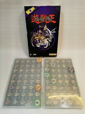 Yugioh! Waps Collection Storage Box/ Carry Case (Panini, 1996) With 24 Waps • 11.99£