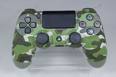 AU29.99 • Buy Genuine Sony PlayStation 4 PS4 Controller V2 | Green Camo | Not Charging & Grips